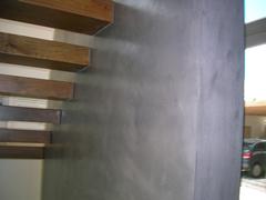 Porque es una buena alternativa lo pisos y paredes de - Como colocar microcemento ...