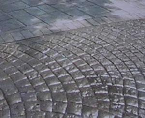 Pavimento impreso hormigon estampado pisos exterior interior Hormigon impreso interior